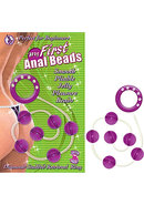 My First Anal Beads Purple