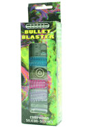 Bullet Blaster With Remote And 4 Assorted Colored Silicone...