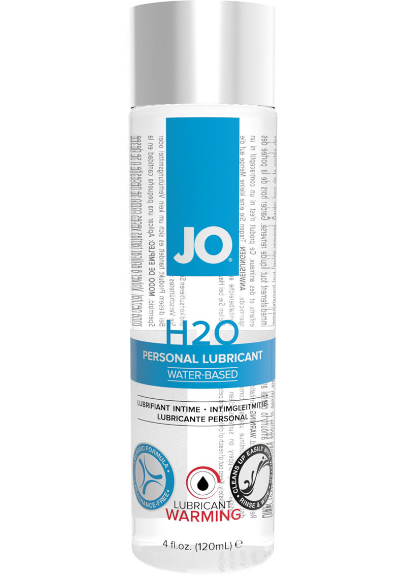 Jo H2o Warming Water Based Lubricant 4.5 Ounce
