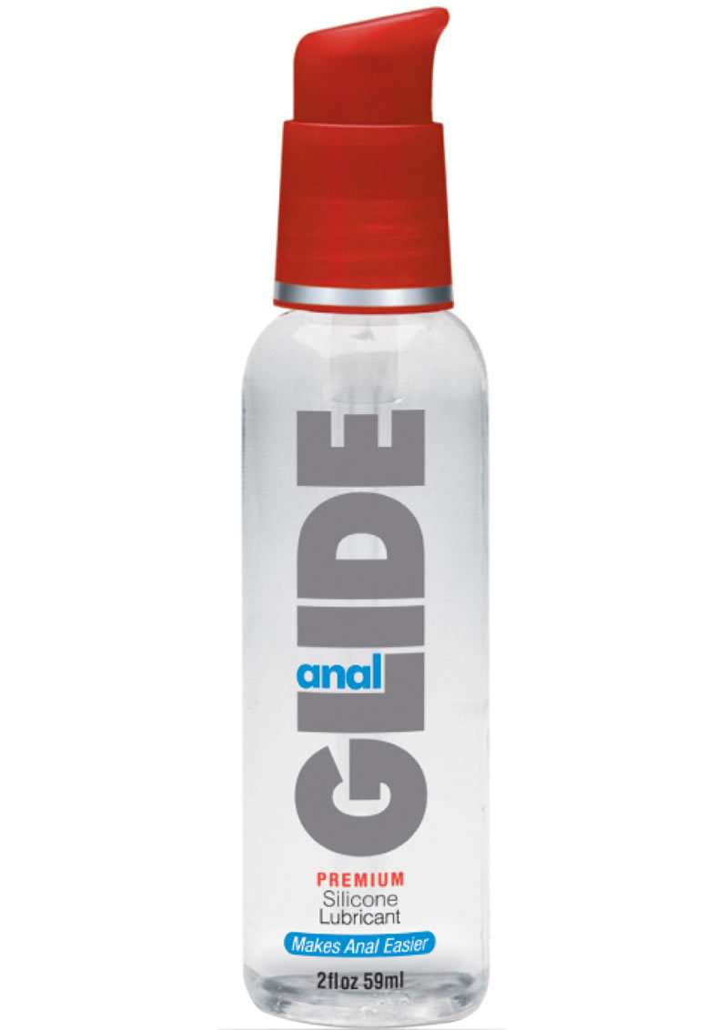 Anal Glide Premium Silicone Based Lubricant 2 Ounce