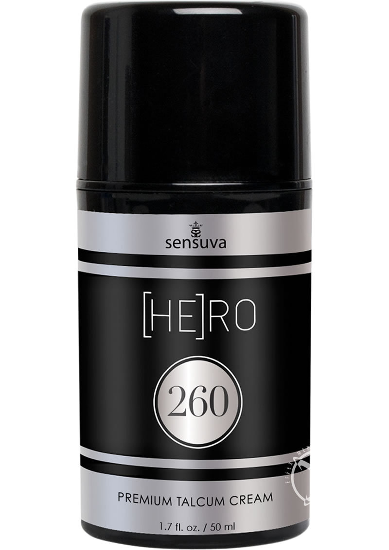 Hero 260 Premium Talcum Cream For Men 1.7 Ounce