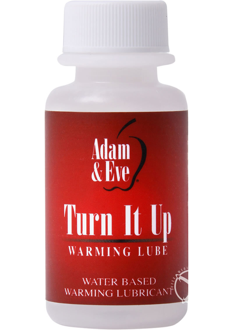 Adam And Eve Liquids Turn It Up Warming Lube 1 Ounce