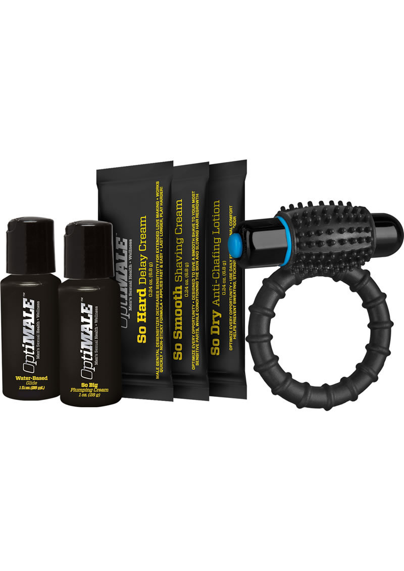 Optimale Men Sexual Health And Wellness Ready Set Go Kit
